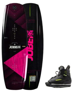 Jobe Vanity wakeboard set 136 / Unit bindning 35-39